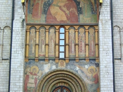 The northern door of the Dormition Cathedral; Kremlin