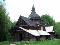 Wooden church, Pirogovo open air museum