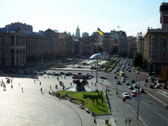 View of Kiev's Independence Square