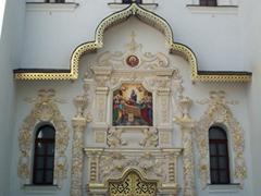 Intricate Church doorway, Kiev Pechersk Lavra complex
