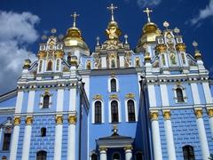 Baby blue hues, St. Michael's, Kiev
