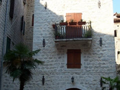 Kotor is one of the best preserved medieval towns in the Adriatic and the residents follow a strict building code within the ancient city walls