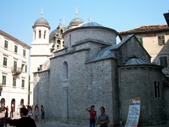 The Church of St Luke is Kotor's oldest church, with construction beginning in 1195. It is located on the Piazza Greca and is one of the few buildings in Kotor to have escaped damage in two major earthquakes that have struck the city