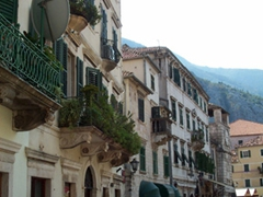 Pedestrian area, Kotor