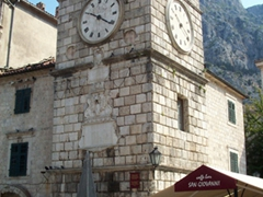 Old clock tower, Kotor