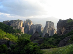 The scenery around Meteora is stunningly beautiful, and pictures just don't do it any justice. It is one of those places that has to be seen in person