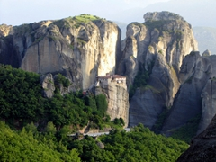 The Holy Monastery of Rousanou is one of the more picturesque of all the Meteora monasteries