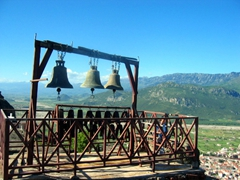 The bells of Agia Triada (Holy Trinity) Monastery