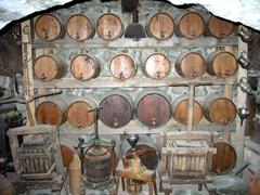 Wine cellar of the Great Meteoran Monastery