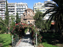A picturesque orthodox church, Thessaloniki