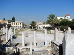 The Roman Agora, Athens's ancient meeting place