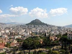 View of Mount Lykavittos