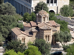 The Church of the Holy Apostles; near the Ancient Agora