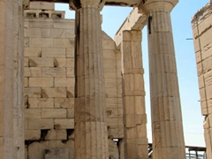 View of the Propylaea; Acropolis
