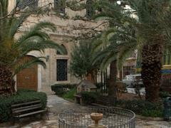 Courtyard behind the 17th century Venetian Loggia; Heraklion