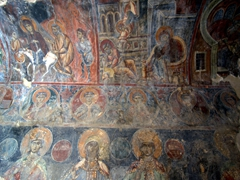 The Byzantine frescoes of Panagia Kera are some of Crete's most photogenic