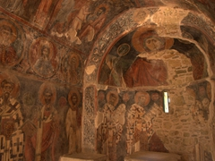 Frescoes dating from the 13th century are remarkably well preserved at the Church of Panagia Kera