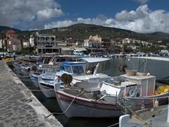 Elounda's fishing harbor