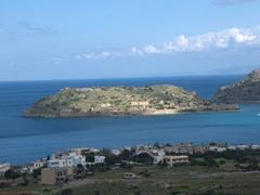 View of Spinalonga (leper island)
