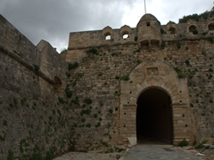 Entrance to Rethymno's 16th century Venetian Fortress