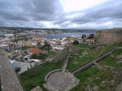 Magnificent views from Rethymno Fortress