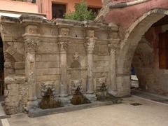 Rethymno's Rimondi Fountain