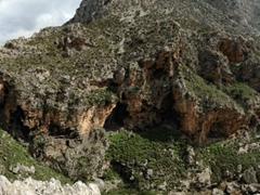 Panoramic view of Kourtaliotiko gorge