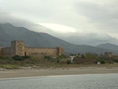 The 1371 seaside castle of Frangokastello