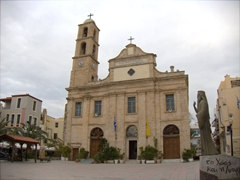 Church of the Trimartyri; Chania