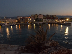 Dusk view of pretty Chania