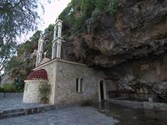 A church built into the rock, near Kissimos