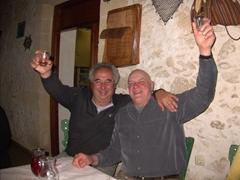 Georgios & Bob, two kindred sailor souls