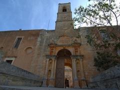 Entrance to the impressive Agia Triada (Holy Trinity) Monastery; Akrotiri Peninsula