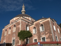 The pink domed Mosque of Süleyman