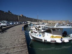 Commercial harbor; Rhodes