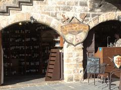 Wine cellar bar; old Rhodes