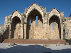 Remnants of the Church of Panagia tou Bourgou (Our Lady of the Bourg)