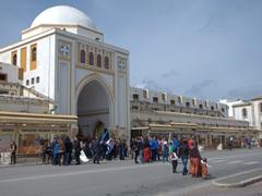 View of the New Market near Mandraki harbor