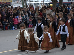 Young and old were represented in Rhodes Independence Day parade