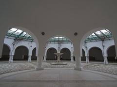Countless archways of Kalithea Thermi