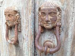 Door knockers; Lindos