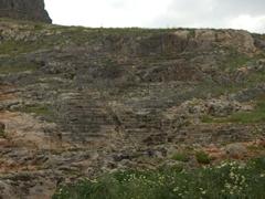 Ancient amphitheater; Lindos