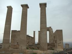 Temple of Athena Lindia; Lindos acropolis