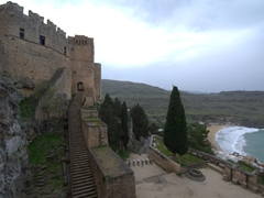 Another vantage point of Lindos Castle
