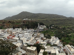 Beautiful vistas abound from the acropolis of Lindos
