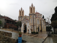 The picturesque 19th century Saint Panteleimon Church is the highlight of the mountain village of Siana