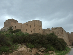The easily accessible 16th century Kritinia Castle