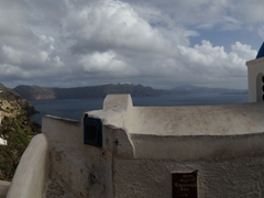Another pano of pretty Santorini