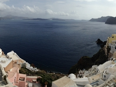 We couldn't stop marveling at the gorgeous panoramic views of Oia