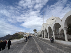 The Orthodox Metropolitan Cathedral (also known as the Church of Ypapantis); Fira